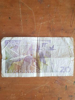 20 Tjugo Kronor de 1858-1940
