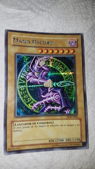 MAGO OSCURO.1996 YU-GI-OH. IMPECABLE