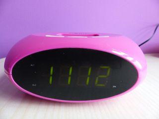 Radio Reloj Despertador - Nevir