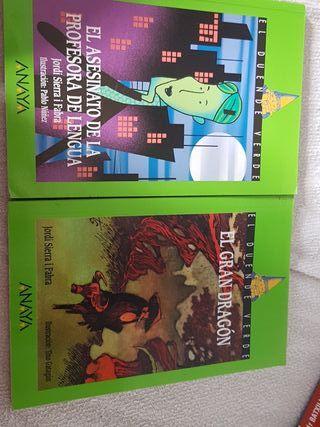 Libros el duende verde Anaya