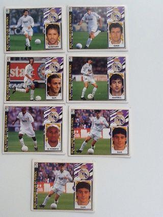 Cromos Real Madrid liga 1997 1998