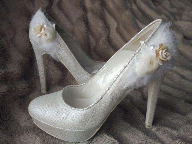 zapatos de novia de segunda mano por 25 € en getafe en wallapop
