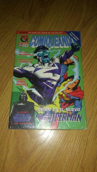 Comic antiguo de coleccion - Comiqueando - 1997