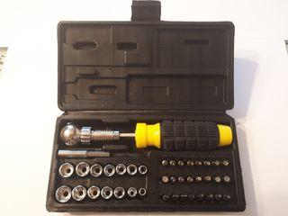 Set destornillador 41 piezas