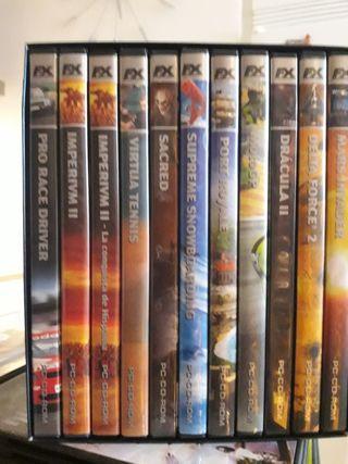 Colección de 11 juegos FX para PC