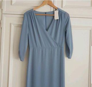 Vestido Maiko Bimani 13 azul nube