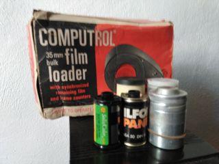 cargador de película