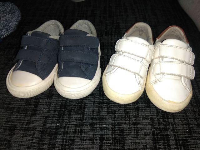 d524b56f5aa Zapatos bebe talla 18 de segunda mano por 4 € en Petrer en WALLAPOP
