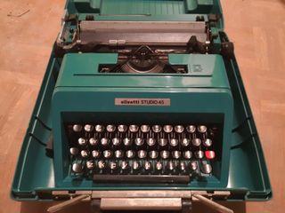maquina de escribir olivetti 45