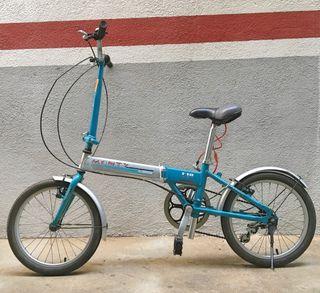 Bicicleta Plegable Monty Aluminio