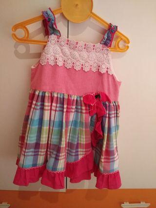 vestido dolce petit talla 4