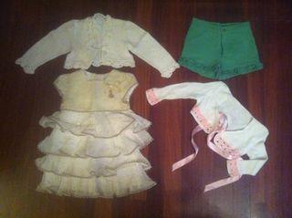 vestido y pantalon jose varon + 2 chaquetas
