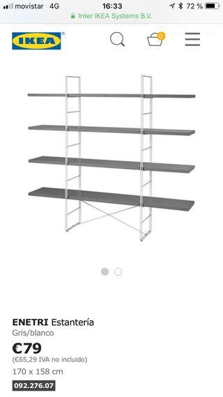 Estantería nueva IKEA