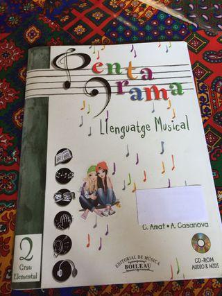 Pentagrama 2 Grau Elemen Ll. musical Boileau