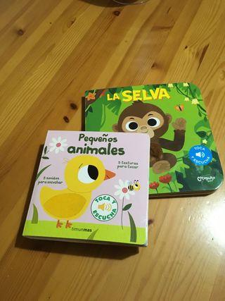 Libro infantil TOCA Y ESCUCHA