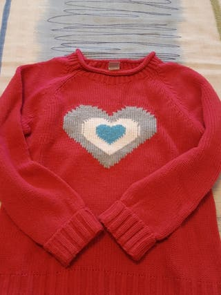 suéter niña lana
