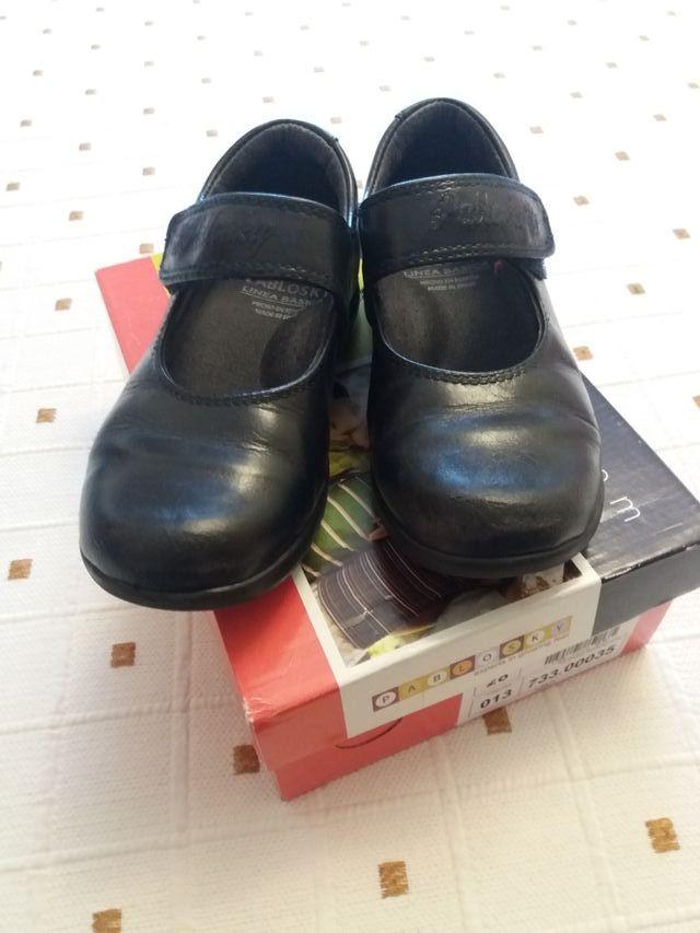 Zapato colegio niña