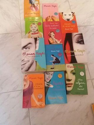 colección libros Mariam Keyes