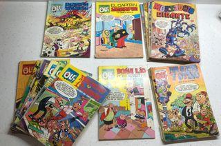 11 unid de cómics Doña Lio, Capitán Serafin,