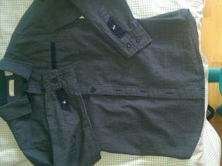 Camisa niño manga larga Talla 8