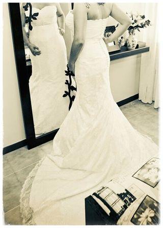 vestido de novia de marca de segunda mano en la provincia de a