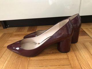 De Zara Por 8 Zapatos Segunda Granates T39 Mano Charol PXiwTlZukO