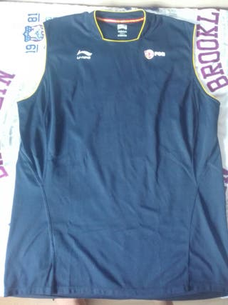 Camiseta entrenamiento baloncesto FEB