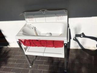 Bañera cambiador spa inglesina