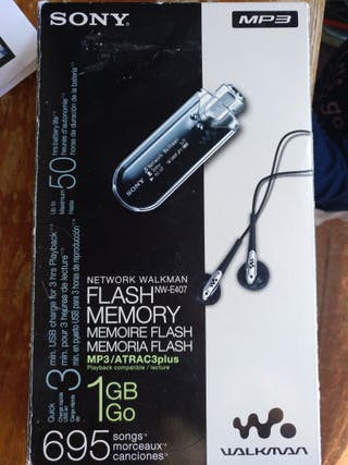 Reproductor mp3 Sony Walkman