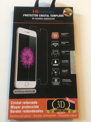 Protector de cristal templado A ESTRENAR iphone 5
