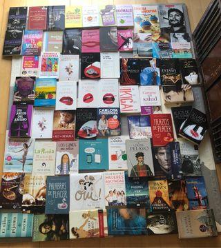 Varios libros de todos los gèneros