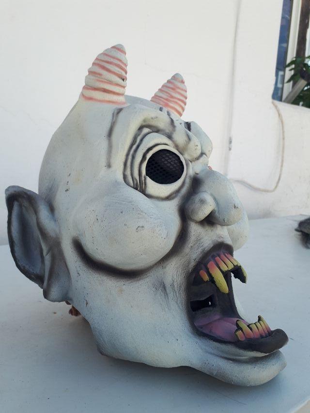 mascara halloween
