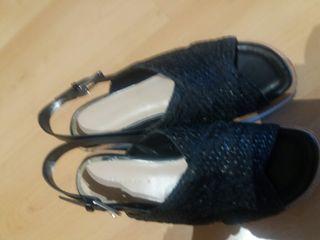 zapatillas, nuevas sólo una puesta