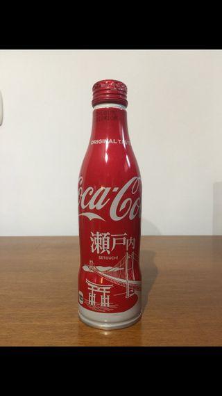 Botella cocacola edición limitada Japón 2017