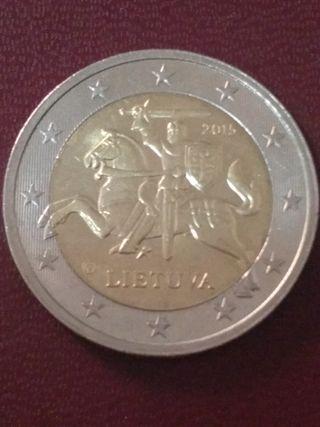 moneda 2€ Lituania s/c