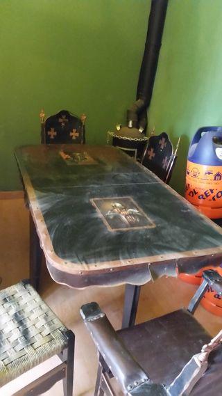 Mesa Plegable Estilo.Medieval De Segunda Mesa Plegable Por En Estilo Barakaldo