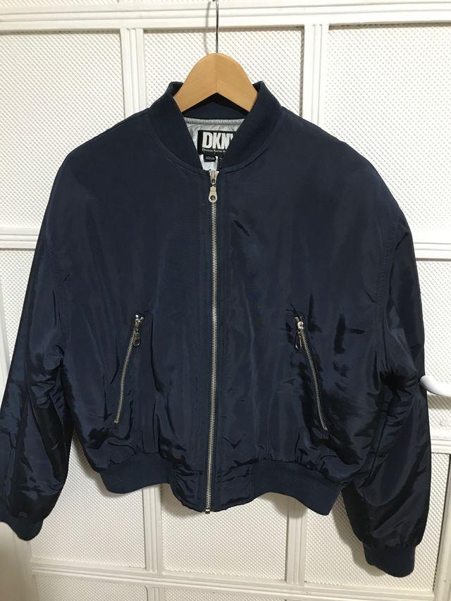características sobresalientes venta barata del reino unido brillante en brillo DKNY chaqueta mujer abrigo azul de segunda mano por 35 € en ...