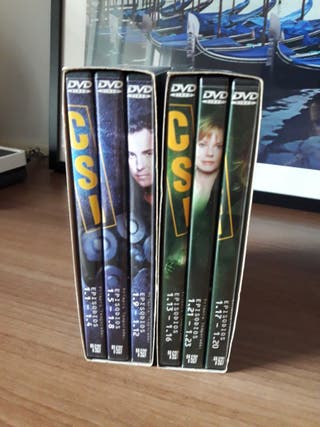 CSI Las Vegas Temporada 1 completa en DVD