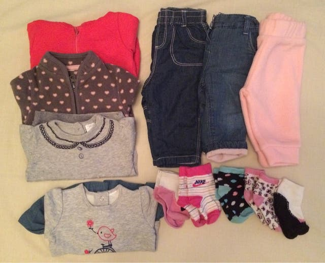 53d52ae006a Lote de ropa para bebé niña 3 meses. de segunda mano por 8 € en ...