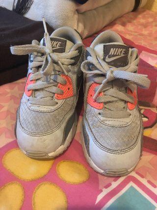 Zapatillas Nike air max Niña