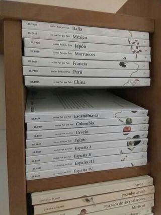 coleccion libros cocina al pais 48 libros