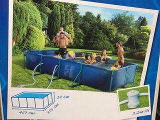 Piscina de segunda mano en valencia en wallapop - Bomba depuradora piscina segunda mano ...