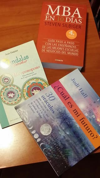libros varios. mandalas y mas