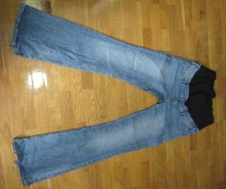 Pantalones premamá Lote 3: 2 vaqueros 1 chándal