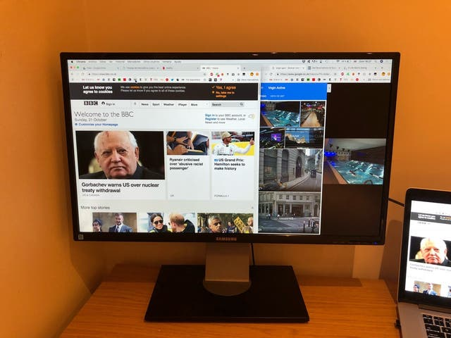 Samsung Screen Monitor - HDMI - 27 inches