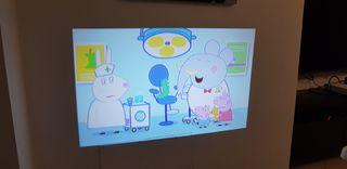 cambio proyector Led 2400 Lumenes por tv smart tv