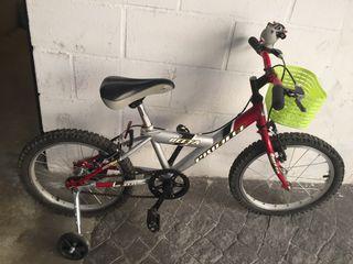 Bicicleta rueda 18cm