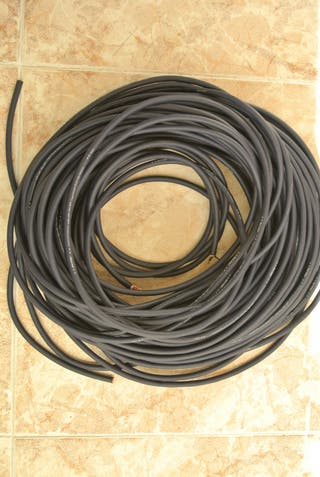 Cable profesional de micro. Real cable