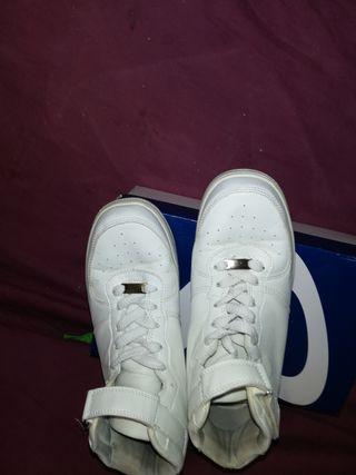 zapatillas blancas perfecto estado