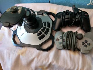 Jostick USB y mandos Play